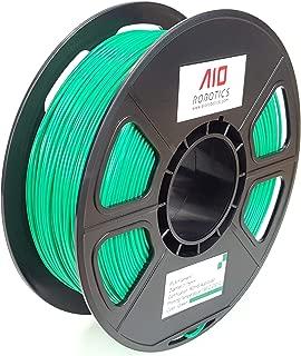 AIO Robotics AIOGREEN PLA 3D Printer Filament, 0.5 kg Spool, Dimensional Accuracy +/- 0.02 mm, 1.75 mm, Green