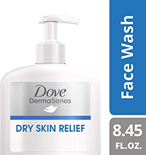 Dove DermaSeries Fragrance-Free Face Wash, for Dry Skin, 8.45 oz