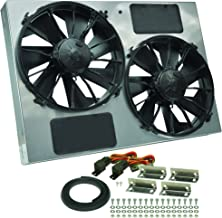 Best Derale Performance 16927 Gray/Black High Output Dual Radiator Fan Review