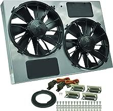 Derale Performance 16927 Gray/Black High Output Dual Radiator Fan