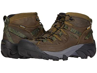 KEEN Targhee II Mid WP (Dark Olive/Black) Men