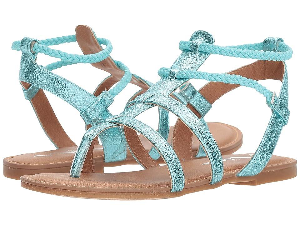 Nina Kids Margaree (Toddler/Little Kid/Big Kid) (Aqua Metallic) Girls Shoes