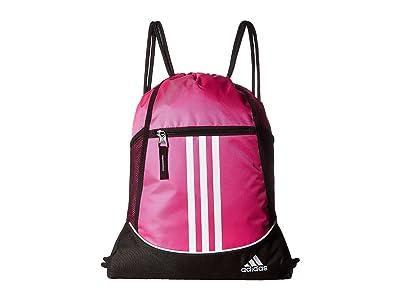 adidas Alliance II Sackpack (Shock Pink) Bags
