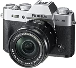 Fujifilm X-T20-24.3 MP Mirrorless Digital Camera with XC 16-50mm F3.5-5.6 OIS II Lens, Silver