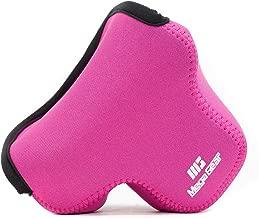 MegaGear MG513 Olympus PEN E-PL9, E-PL8, E-PL7 Ultra Light Neoprene Camera Case - Hot Pink
