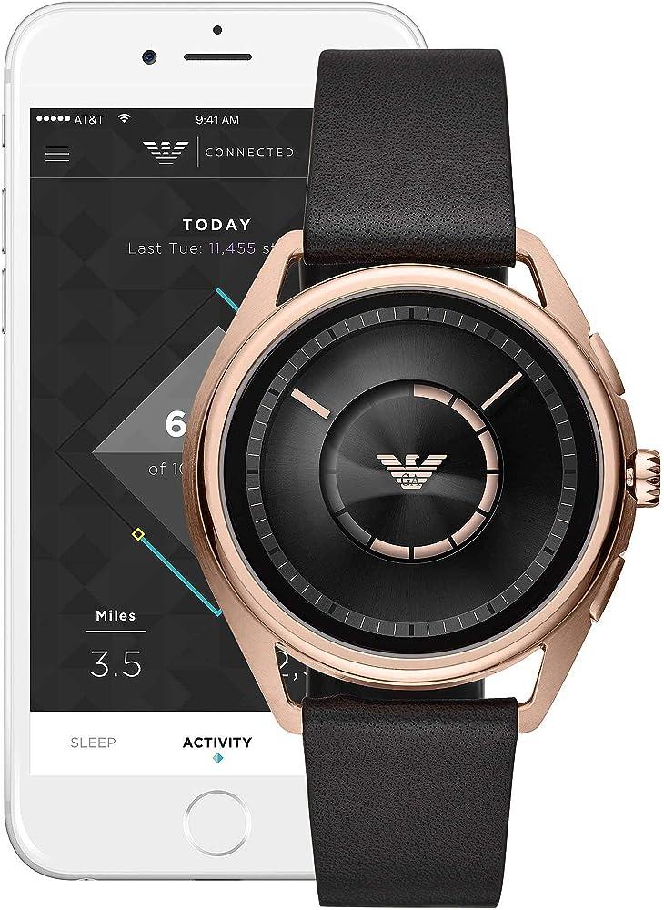 Emporio armani smartwatch uomo digitale touchscreen. ART9005