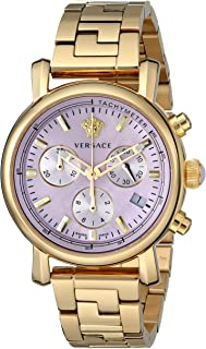Women's VLB100014 Day Glam Gold Ion-Plated Stainless Steel Watch