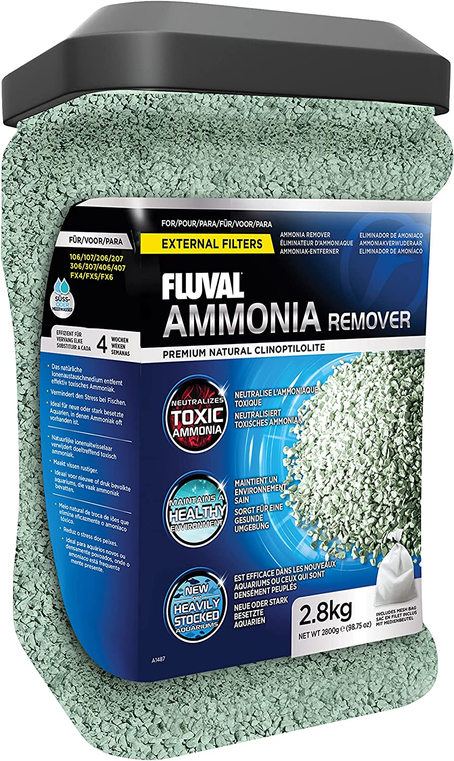 Fluval Ammonia Remover Chemical Filter A surprise price is realized Freshwater Media Ultra-Cheap Deals for Aqu