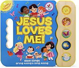 Jesus Loves Me 5-Button Songbook - Perfect Gift for Easter Baskets, Christmas, Birthdays, Baptisms, and More, Ages 2-7 (Li...