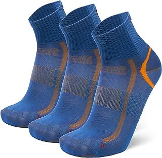 Quarter Athletic Socks for Men & Women, Performance, Running, Sports, Fitness, Gym, Trainer Socks, 3 Pack