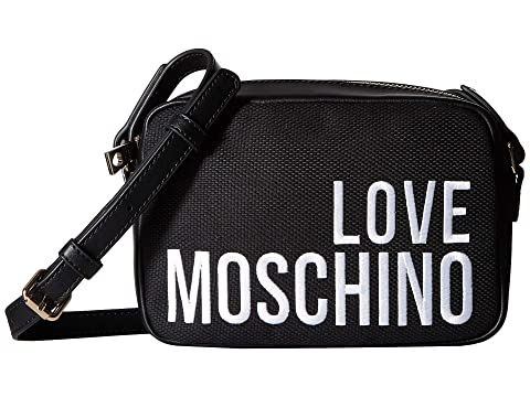 LOVE Moschino Canvas Embroidery Crossbody