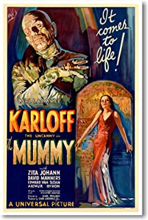 The Mummy - NEW Vintage Movie Poster