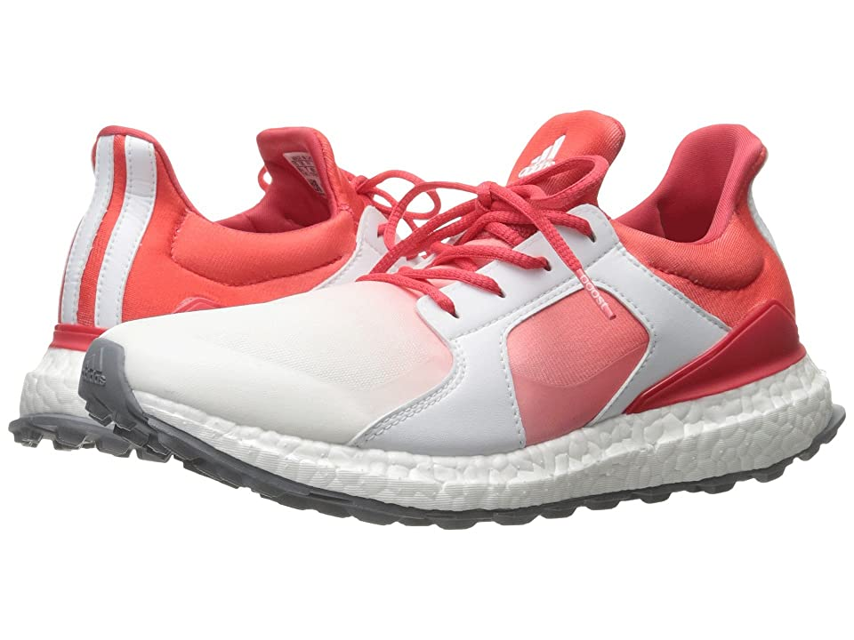 adidas Golf Climacross Boost (Core Pink/Ftwr White/Silver Metallic) Women's Golf Shoes