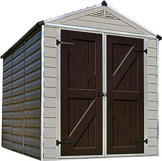 Palram Skylight Storage Shed, 6' x 8'