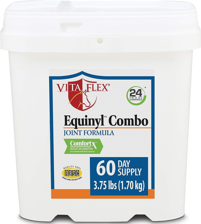 Vita Flex Equinyl Combo Joint for Formula Horses Max 77% OFF Supplement Regular store