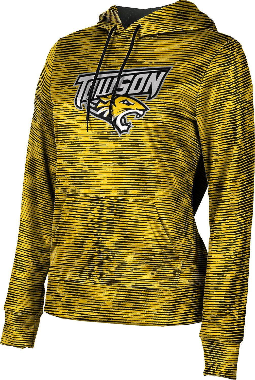 ProSphere Towson University Girls' Pullover Hoodie, School Spirit Sweatshirt (Velocity)