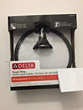 Delta Towel Ring Oil Rubbed Bronze Finish