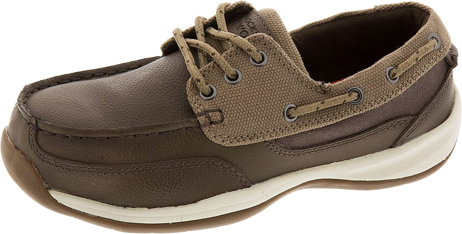 Rockport Works Women's Sailing Club 3 Eye Tie Boat shoes ST