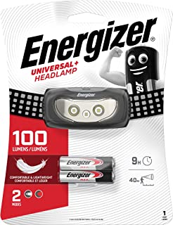 Energizer hoofdlamp universeel (incl. 3 x AAA, 60 lumen en 20 m bereik) Universele led (60 lumen).