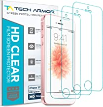 Tech Armor High Definition Clear PET Film Screen Protector (Not Glass) for Apple iPhone..