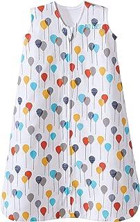 Halo Sleepsack Cotton Wearable Blanket, Neutral Balloons,...