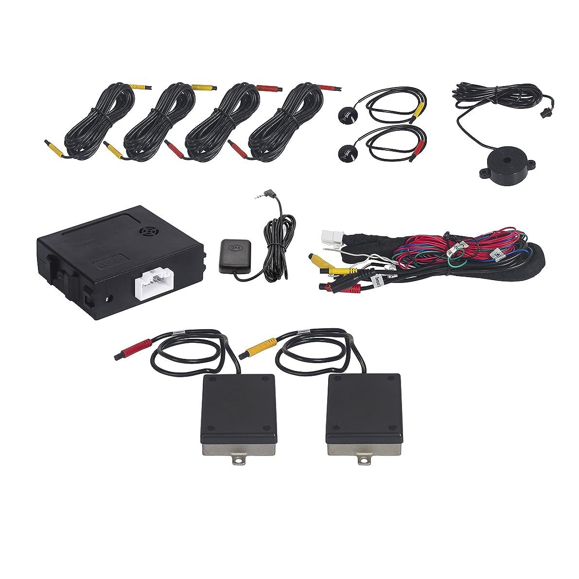 信頼性のある技術者文言後方から近づく車を検知してインジケーターを点灯、警告してくれるブラインドスポット検知システム XBS-010