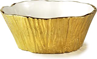 Amazon Com Serving Bowls Gold Serving Bowls Serving Bowls Tureens Home Kitchen