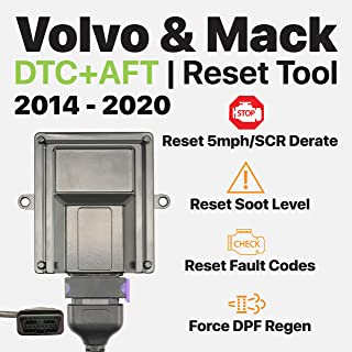 OTR Performance Volvo Mack 2014-2020 | Heavy Duty Diagnostic Tool | Forced DPF Regen | Reset Soot Level | Reset SCR Derate | Volvo D11 D13, Mack MP7, MP8 | OBD J1939