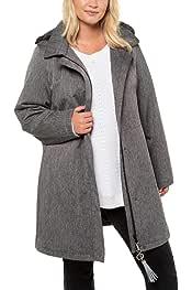 Ulla Popken Onlqueen L//S Glitter Twist Dress Jrs Blusa para Mujer