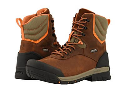 Bogs Bedrock 8 Insulated Puncture Proof (Brown Multi) Men