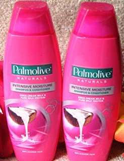 Lot of 3 Palmolive Naturals Intensive Moisture Shampoo & Conditioner Dry/Course Hair 180ml