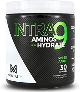 MDRN Athlete Intra9   All 9 Essential Amino Acids EAA   7 Grams   2:1:1 Branched Chain Amino Acids BCAA   Keto   Recovery ...