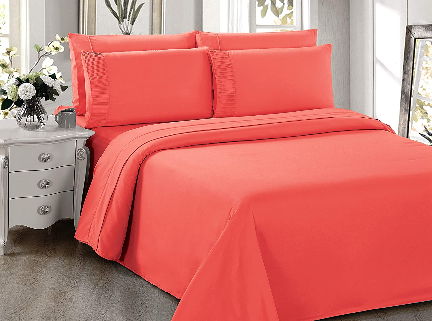 cheap Bamboo Living Ultra Soft Silky Deep Max 40% OFF Solid Bamb Pocket Rayon from