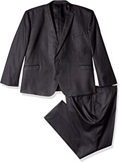 Men's Slim Fit Performance Suit in Extended sizes