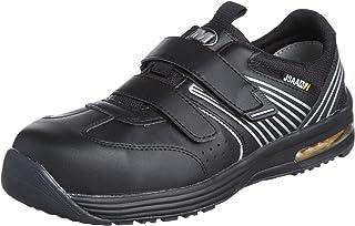 [ミドリ安全] 安全作業靴 JSAA認定 静電気帯電防止 耐滑 マジックタイプ プロスニーカー ISA805 メンズ