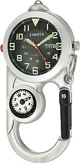 Dakota Angler II Day/Date Clip Watch - Silver