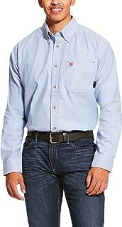 ARIAT Men's Fr Solid Twill Durastretch Work Shirt