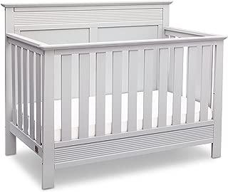 Serta Fall River 4-in-1 Convertible Baby Crib, Bianca White
