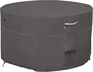 Classic Accessories Ravenna Round Fire Pit/Table Cover, 42-Inch