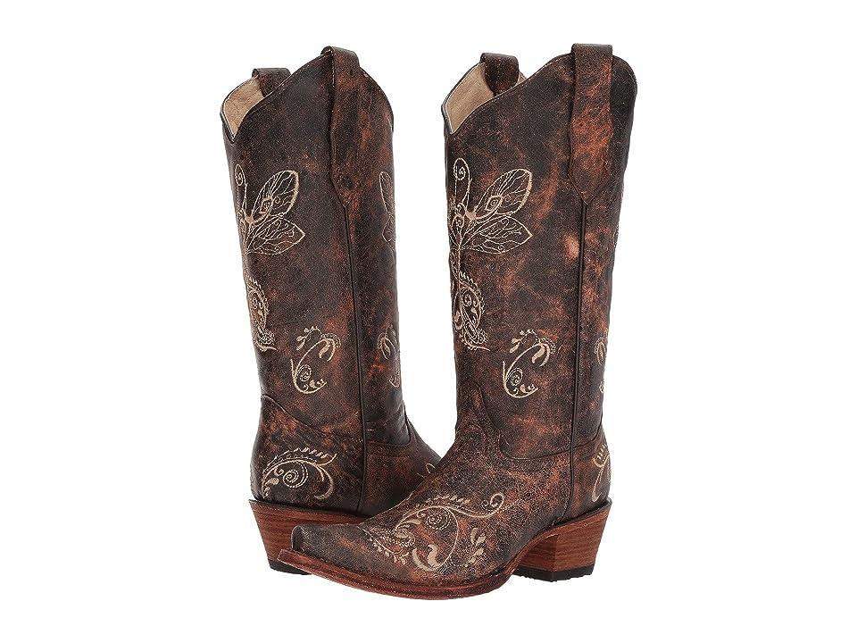 Corral Boots L5001 (Brown/Bone) Cowboy Boots