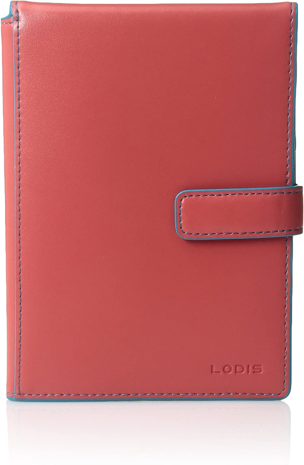 Lodis Audrey Pportwltwtktflp Cts Pass Case, Coral Turquoise, One Size