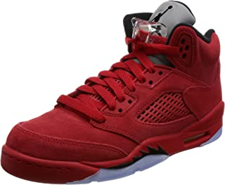 online retailer 81d15 f1ebd Nike Kids Air Jordan 5 Retro BG University Red Black 440888-602 (Size