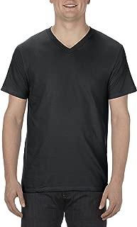 Alstyle Apparel AAA Men's Ultimate Lightweight Ringspun V-Neck T-Shirt