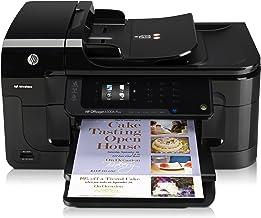 HP Officejet Impresora HP Officejet 6500A Plus e-All-in-One - Impresora multifunción (inyección de tinta, 7000 páginas por mes, escanear, copiar, 31 ppm, 100 copias, Dispositivo plano)