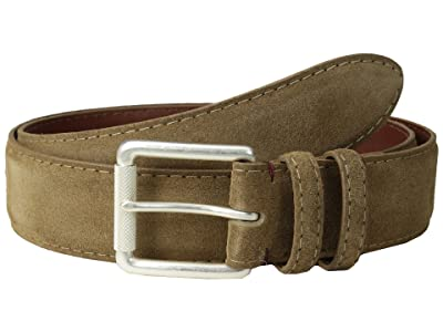 Torino Leather Co. 38MM Italian Calf Suede (Whiskey) Men