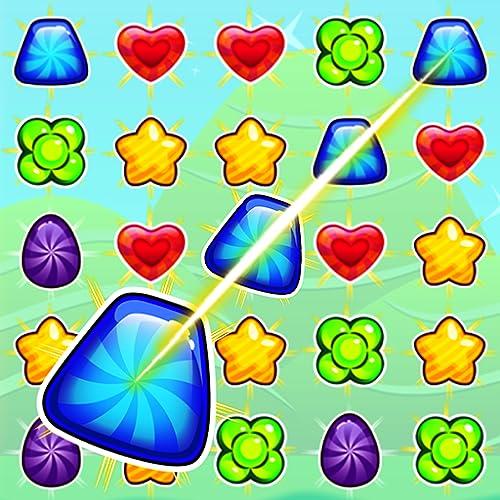 Candy Line: Quetschen Sie und verbinden Sie 3 oder mehr Verbindungen, um Bonbons herzustellen.