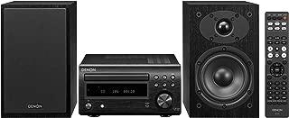Denon D-M41 CD/FM Micro Desktop Stereo System w/Bluetooth (Renewed)
