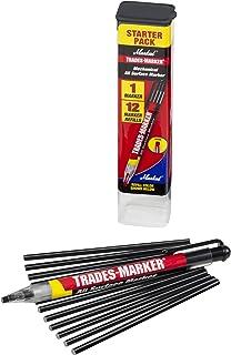 Markal 96133 Trades Marker (1 Holder 12 Refills) Black