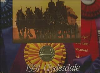 1991 Budweiser Clydesdale Wall Calendar