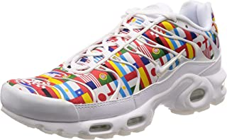 Nike Men's Air Max Plus NIC, White/Multi-Color